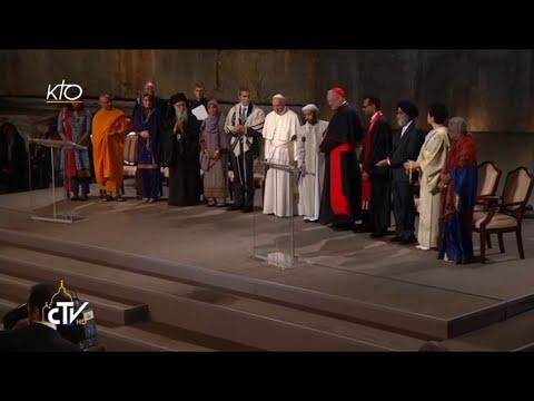 Rencontre interreligieuse du Pape à Ground Zero