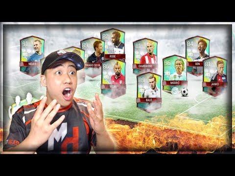 UNBELIEVABLE TOPPER!! FIFA MOBILE COMMUNITY TOTW BUNDLE OPENING!! 8 ELITE CTOTW PULLS!!