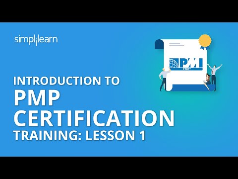 Introduction To PMP Certification Training: Lesson 1 | Simplilearn ...