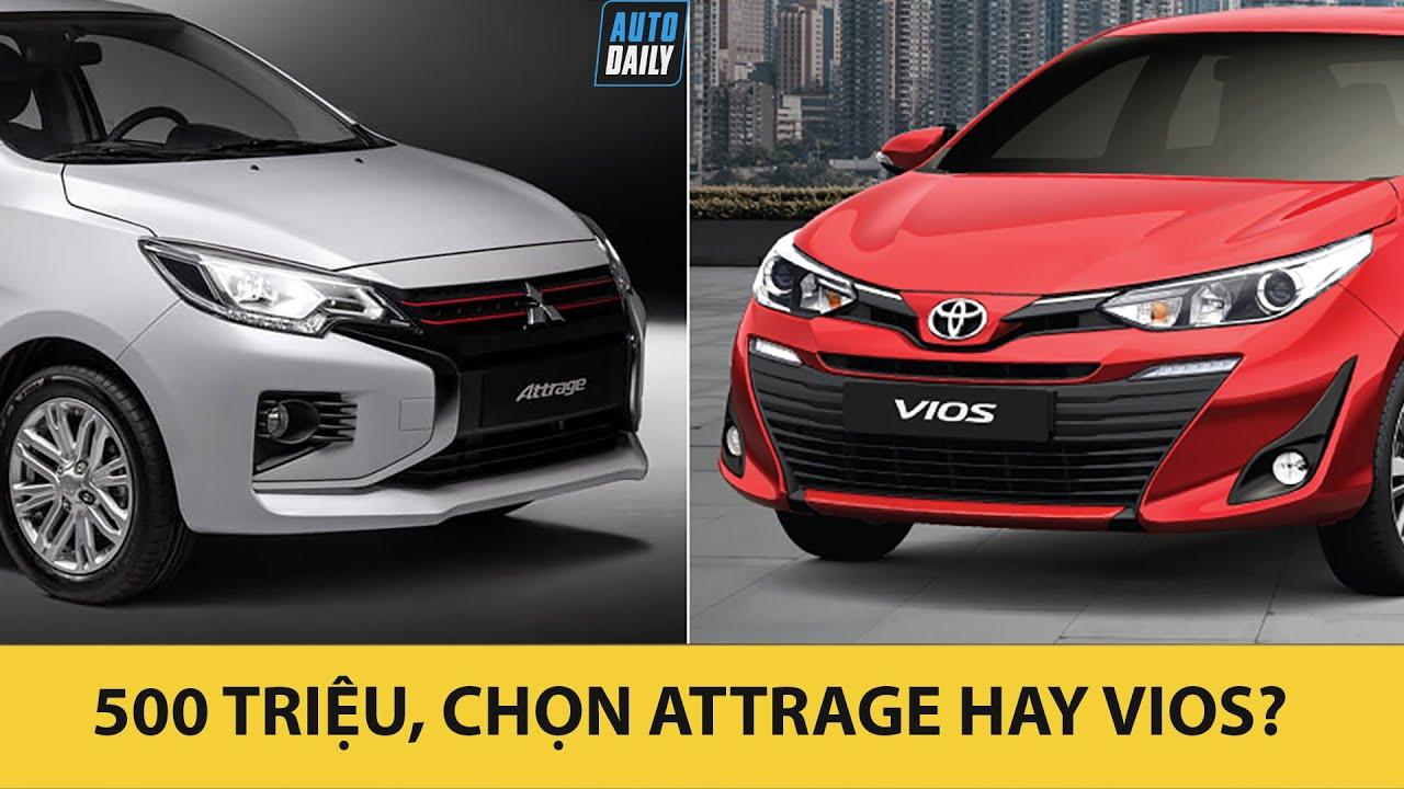 So sánh Mitsubishi Attrage 2020 và Toyota Vios 2020 - Rẻ hơn cả trăm triệu có soán được ngôi? (ĐT: 0948.960.069-Ms.Nhung)