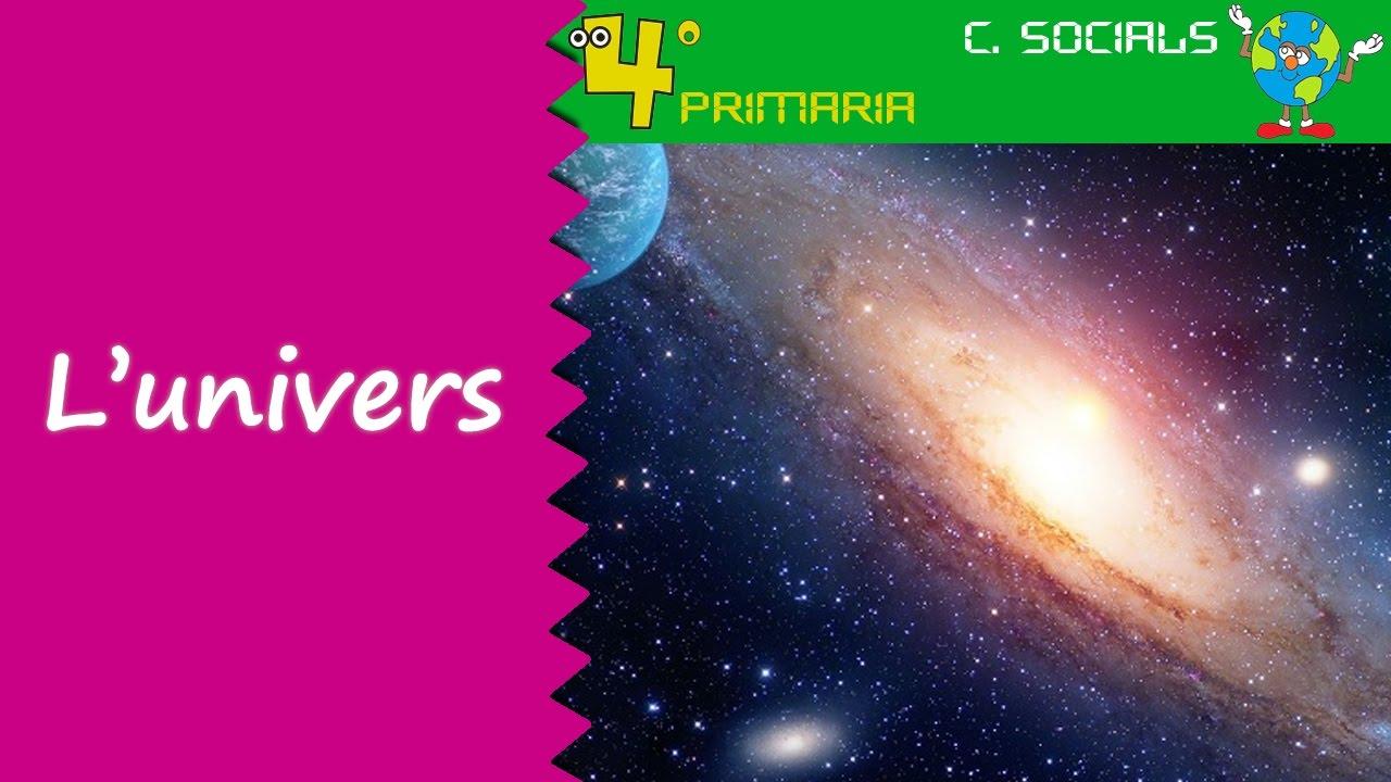 Ciències Socials. 4t Primària. Tema 1. L'univers