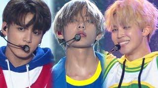《POWERFUL》 BTS(방탄소년단) - DNA @인기가요 Inkigayo 20171001