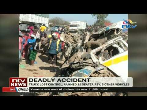 12 dead in Kikopey road accident along Gilgil Naivasha- Highway