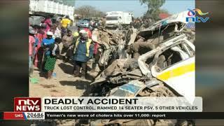12 Dead In Kikopey Road Accident Along Nairobi-Nakuru Highway
