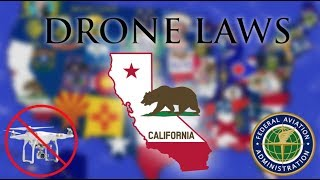 Where Can I Fly in California? - Every Drone Law 2019 - Los Angeles, San Diego, SF (Episode 5)