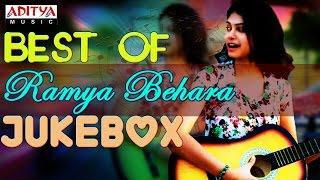 "Singer ""Ramya Behara"" Hit Songs    Jukebox"