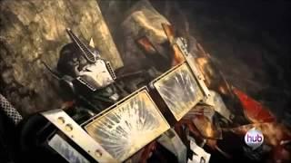 Optimus prime regresa después de una gran explosión