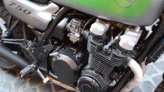 Kawasaki ZR 750 Cafe Rafer Sound