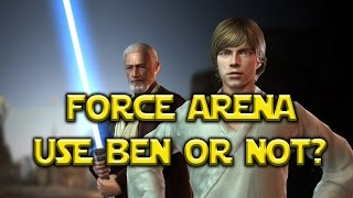 Star Wars: Force Arena - Luke Use Ben Kenobi Or Not?