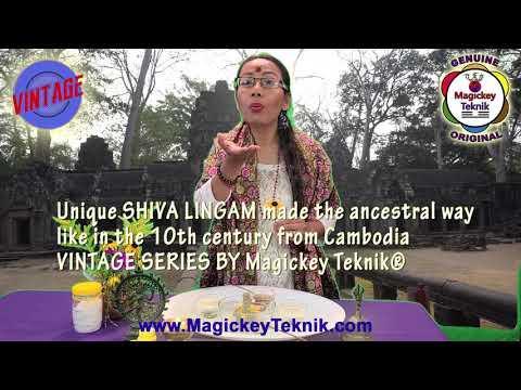Shiva Lingam, Handmade Unique, original Legends of Shiva Lingam Angkor Wat, spiritual Pooja, sacred