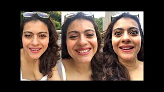 Kajol Cute Video With Hubby Ajay & Son YUG In BIG Bungalow After L0CK DOWN