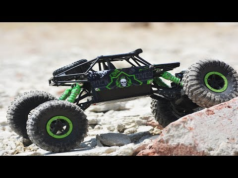 Rally Car RC Monster Truck Kids Play Toys Review & unboxing