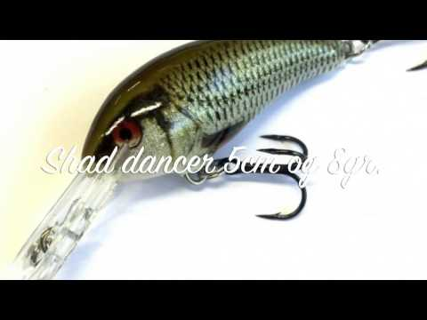 Воблер RAPALA SHAD DANCER SDD04-SFC фото №3