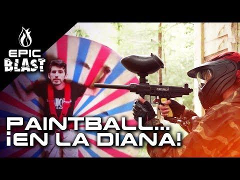 El nuevo RETO de PAINTBALL con Makiman, Patty Dragona y Camilo - EPIC BLAST