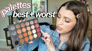 My Eyeshadow Palettes // Best + Worst, Which Are Overrated, Underrated, Cheapest, Most Used