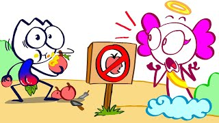 The Forbidden Fruit: Nothing is Off Limits To Ted   Animated Short Film   Pencilanimation
