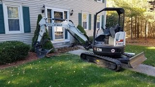 Bobcat E26 Mini Excavator Walk Around/Review