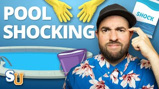 How To SHOCK a Swimming POOL | Swim University