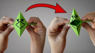 ►► Paper Craft: How To Make Paper Fish Mouth Easy Step By Step | Lovely Easy Crafts