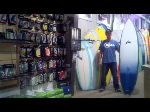 Rusty Big Cat Surfboard Video Review