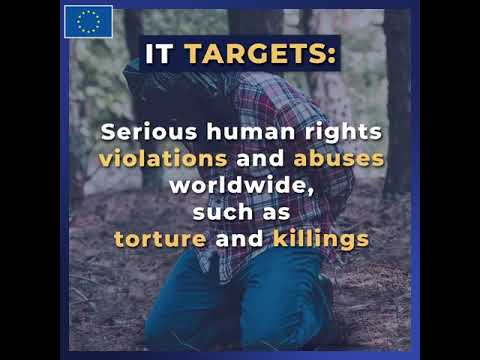 The new EU Global Human Rights Sanctions Regime