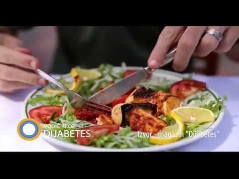 Pravilna prehrana sa šećerom u krvi