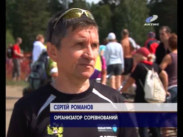 На Еловке прошли соревнования по триатлону