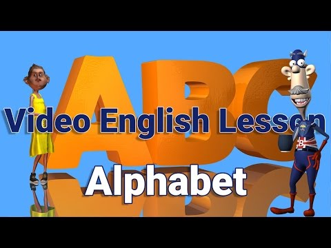 Download English Alphabet in British English – Learn English Mp4 HD Video and MP3