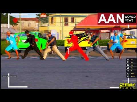 Флешмоб на сервере ZBK Online! AAN News! (Arma 3 Altis Life RPG)