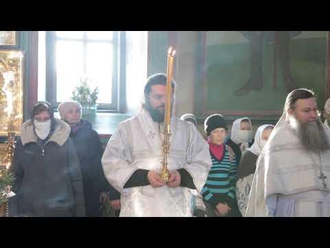 Митрополит Даниил в Крещенский сочельник совершил чин Великого освящения воды
