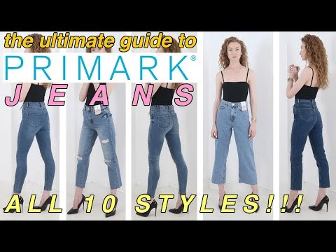 The ultimate try-on guide to women's Primark jeans | EVERY STYLE! | 2018