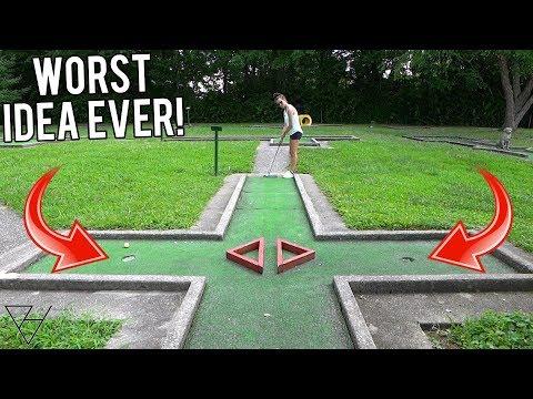My Worst Mini Golf Idea Yet...