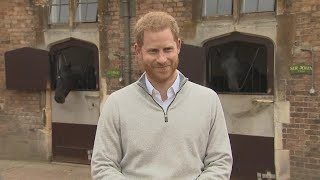 Prince Harry Gives First Post-Baby Interview