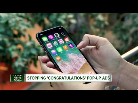 Stopping Congratulations Pop Up Ads Mp3