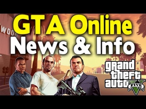 GTA 5 - NEW GTA ONLINE INFO (Game Modes, 32 Players, Cash Cards, & New Features) [GTA V]