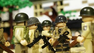 LEGO WW2 NORMANDY D-DAY AIRBORNE ASSAULT - Band of brothers lego film