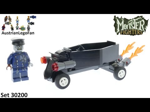 Vidéo LEGO Monster Fighters 30200 : Zombie Chauffeur Coffin Car (Polybag)