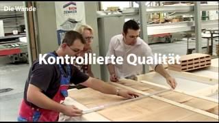 Erleben Sie wie die Mitarbeiter von Bien-Zenker mit modernster Technik und den besten Materialien ein Bien-Zenker Traumhaus anfertigen.