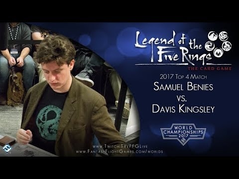 FFG Worlds 2017 – Legend of the Five Rings – Top 4