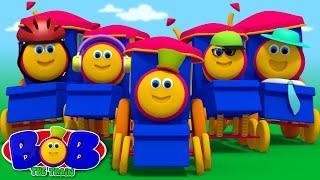 five little babies | kindergarten songs | kids cartoons | songs for children by Bob The Train