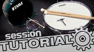 Schlagzeug stimmen: So stimmst du deine Snare, Tom und Bassdrum | session Tutorial