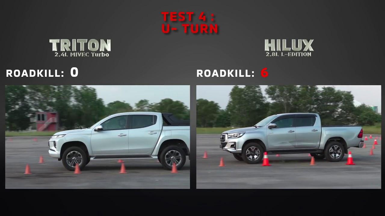 So sanh xe Mitsubishi Triton và Toyota Hilux
