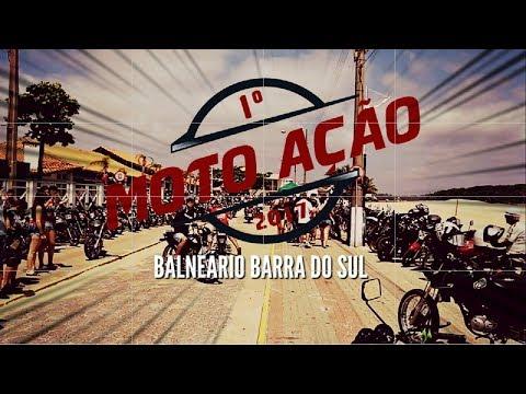 1º MOTO AÇÃO - BALNEÁRIO BARRA DO SUL | ENCONTRO DE MOTO BENEFICENTE ‹ PANDA MOTOVLOG ›