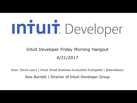 Meet Alex Barnett, Director of Intuit Developer Group
