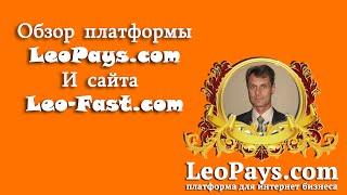 Обзор платформы LeoPays.com и сервиса Leo-Fast.com