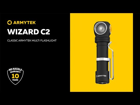 Wizard C2 – Armytek classic with improved features and new design