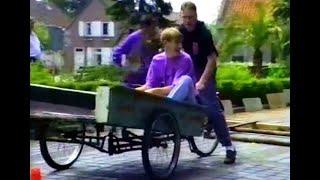 Bakfietsrace Kerkplein 1991