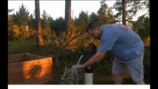 How To Drill A Shallow Well. Easy DIY Instructions!