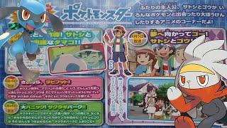 Raboot  - (Pokémon) - Tres NUEVOS TITULOS Y SINOPSIS del anime POKEMON Ep. 21-23    HUEVO  de RIOLU?    Adios RABOOT?