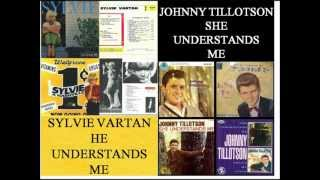 Johnny Tillotson - She understands me - Sylvie Vartan - He understands me